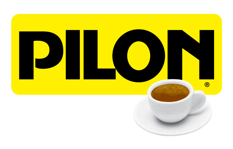 Pilon Logo with cup